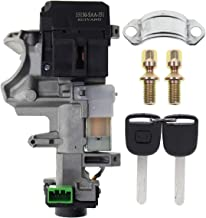 AUTOKAY Ignition Switch Lock Cylinder 35100-SDA-A71Auto Trans With 2 Chip Keys for Honda Accord Civic CRV Odyssey 2003-2011