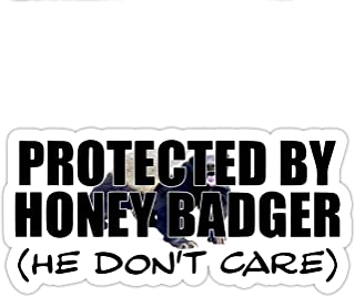 Honey Badger Inspired Parody He Don't Care Funny Window Laptop Car Sticker 8