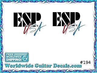 ESP Guitar Decal Headstock Waterslide Restoration logo 194