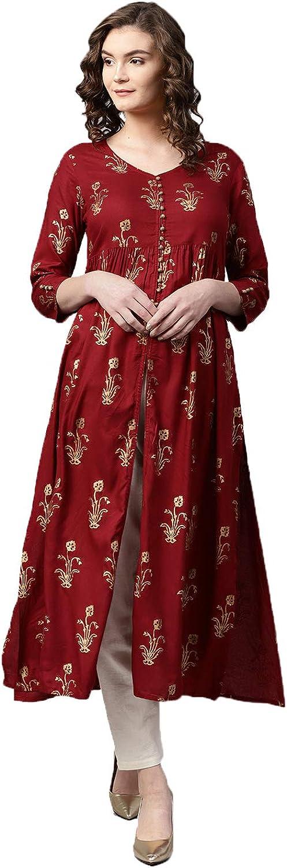GLOBON IMPEX Free shipping New OFFicial shop Designer Kurta Readymade Kurti Tu Top Ethnic Indian