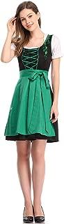 Limited Traditional Dirndl Women Dresses Blouse Apron