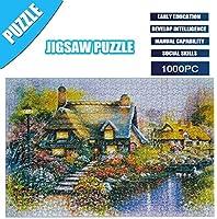 大人1000パズルジグソーパズル、アダルトチルドレンパズルパズル玩具は、子供の教育玩具セットジグソーパズルおもちゃゲームギフトパズル1000PC (Color : A)