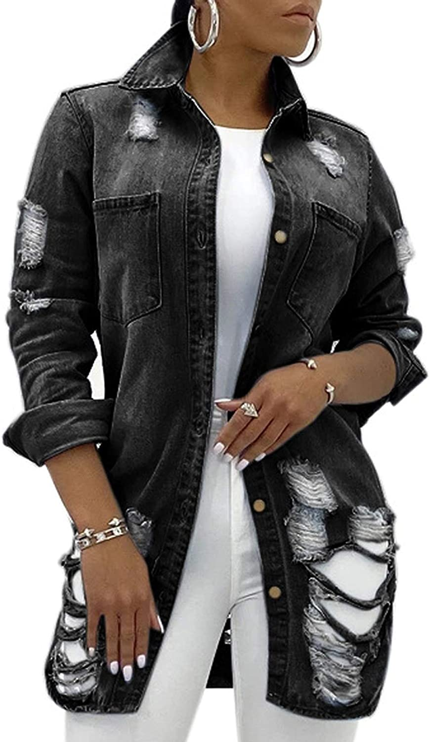 Women's Max 71% Max 89% OFF OFF Casual Camouflage Jacket With Pockets V S Neck Long Sexy