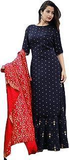 sunrise paridhan Women's Viscose Salwar Suit