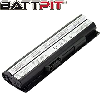 Battpit BTY-S14 Laptop Battery for MSI CR650 CX61 CX650 FX700 GE60 GE620 GE620DX GP60 FX400 FX600 FX620 BTY-S15 40029150 40029231 40029683 E2MS110K2002 E2MS110W2002 E2MS115K2002 (4400mAh / 49Wh)