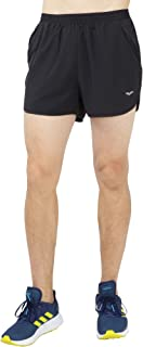 Men's Quick Dry Running Shorts Lightweight Workout Training Shorts with Liner, Zip Pockets, 3 Inch Inseam