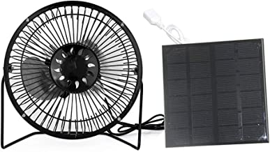 TwinPa Solar Panel Fans Outdoor for Camping Home Chicken House RV Car Gazebo Greenhouse Ventilation System