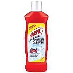 Harpic Disinfectant Bathroom Cleaner - Lemon, 1 L