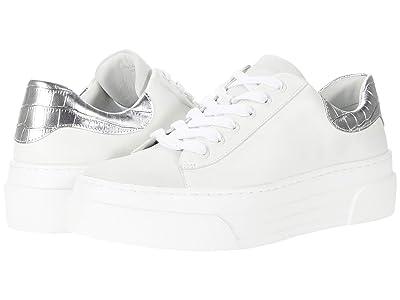 J/Slides Amanda (White Leather) Women