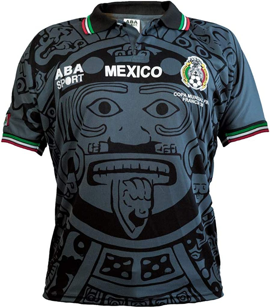 ABA Max 43% Limited time sale OFF Sport Mexico Black Authentic Gala Edition 1998 World Soc Cup