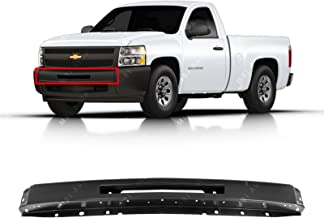 MBI AUTO - Primered, Steel Front Bumper Face Bar for 2007-2013 Chevy Silverado 1500 & 07-10 2500/3500 Pickup, GM1002836
