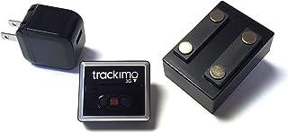[セット品] 3点セット Trackimo(トラッキモ) 小型GPSトラッカー [TRKM-010] リアルタイム追跡GPS発信機 + マグネット付きケース+ USB充電器