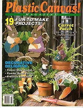 Single Issue Magazine Plastic Canvas! Magazine March/April 1992 (Number 19) Book