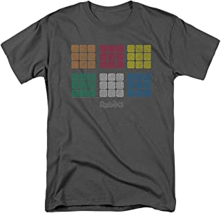 Rubik's Cube Official T Shirt & Stickers