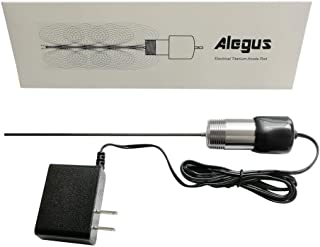 Alegus Upgrade Powered Anode Rod, Water Heater Anode Rod Replacement, Eliminate Odor (Sulfur/Rotten Egg Smell), Tank Corrosion Protection and Reduce Limescale (30-60 Gallon Tank)