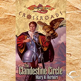 The Clandestine Circle audiobook cover art