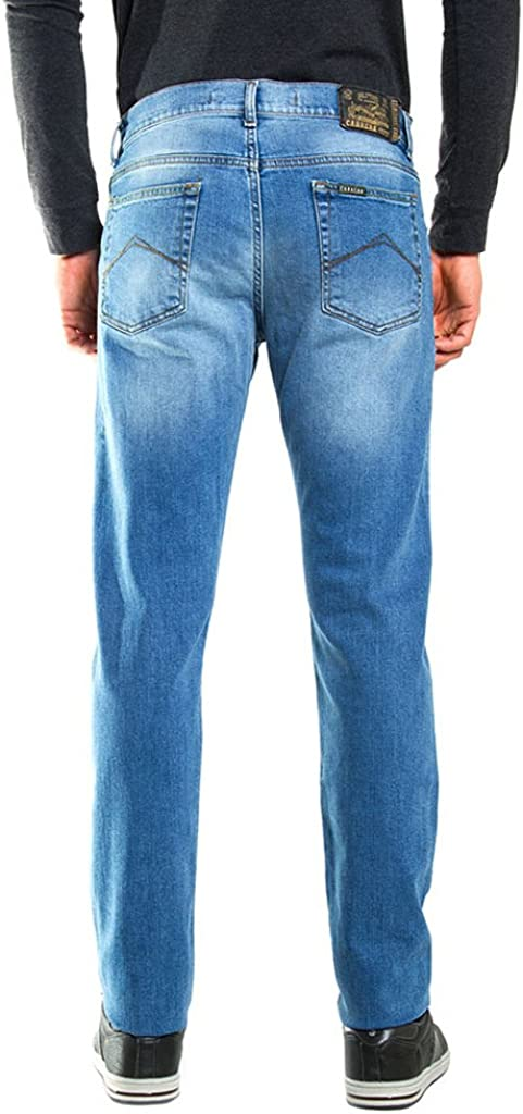 Carrera Jean Baggy Homme 501 - Lavage Bleu Clair (Super Stone Wash)