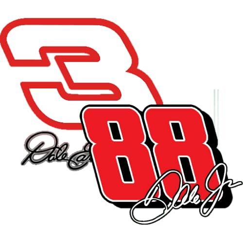 Dale Earnhardt Jr & Sr Clock Widget