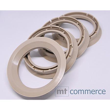 Crk 4x Zentrierringe 72 5 X 57 1 Mm Beige Felgen Ringe Made In Germany Auto