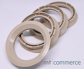 CRK 4X Zentrierringe 72,5 x 57,1 mm beige Felgen Ringe Made in Germany