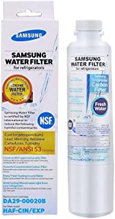 HAF-CIN Compatible with DA29-00020A RH22H9010SR RF28HMEDBSR 9101 DA97-08006A Samsung DA29-00020B Refrigerator Water Filter HAF-CIN//EXP Kеnmorе 4Samsung DA29-00020B Re69101 RH25H5611SR 1PCS
