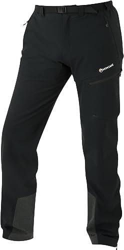 MONTANE - Pantalon de Sport - Homme Noir Noir S