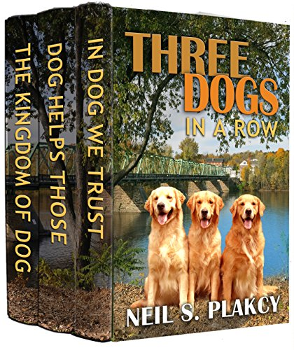 Three Dogs in a Row (Cozy Dog Mysteries, Books 1-3 in the Golden Retriever Mystery series): Volume 1 (Golden Retriever Mysteries) (English Edition)