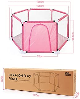 YFASD Baby Playpen Safety Fence Panel Kids Activity Center Room Fitted Floor Mats For Babies toddler newborn infant Safe Crawling Made Rugged Materials For Quick Easy Assembly B