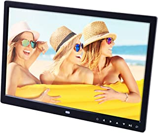 Color : White Support SD//MS//MMC Card and USB Black Lihuoxiu Consumer Electronics 13 inch LED Display Digital Photo Frame with Holder /& Remote Control Allwinner F16