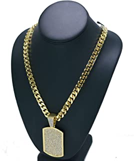 Mens 14K Gold Plated 30