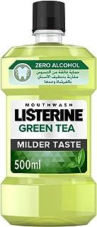 LISTERINE Breath Freshening Mouthwash, Green Tea, 500ml
