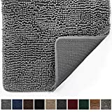 Gorilla Grip Original Indoor Durable Chenille Doormat, 60x36, Absorbent Machine...