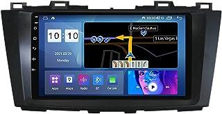 Android 10.0 Radio Coche Navegación GPS para Mazda 5 2010-2015, Pantalla Táctil De 9 Pulgadas, Bluetooth Carplay FM Am RDS...