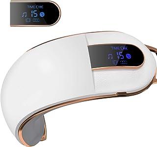 Gemtop 「2020NEWモデル」アイマッサージャー 目元マッサージャー bluetooth 温め 折りたたみ USB充電 理美容家電 目元に極上エステ「日本語説明書」