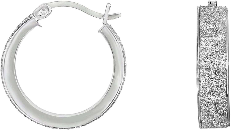 Silver with 1 year warranty Rhodium Finish 4.9X15mm Cut Sparkle Shiny+Diamond New product Ro
