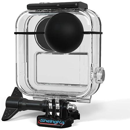 Kiowon GoPro MAX 専用360度パノラマアクションカメラ 対応 防水ケース 保護ケース 水中撮影 ビデオカメラアクセサリー タッチスクリーンサポート