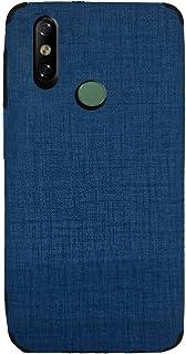 لهاتف انفينكس سمارت 4 x653 جراب خلفي جينز سليكون - ازرق