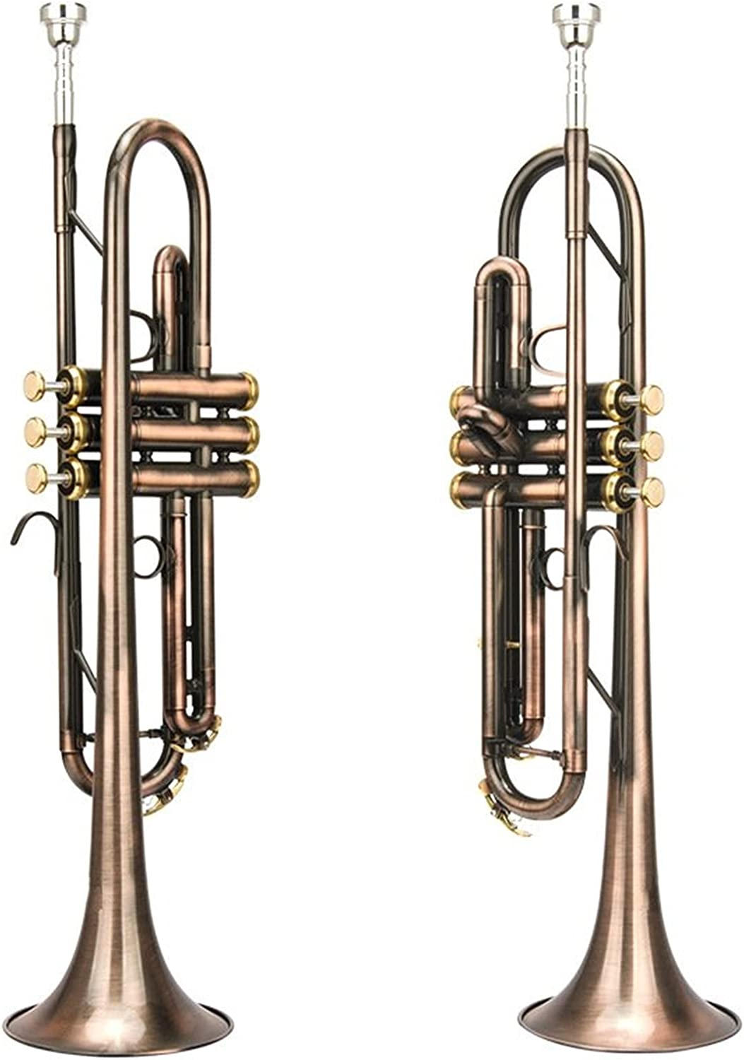 Beauty products Trumpet Antique Instrument B Our shop most popular Flat Wind