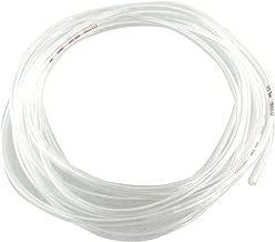 TOOGOO(R) Transparent 4 Metres 13.1Ft 4mm x 2.5mm Pneumatique Polyurethane Flexible d'Air Tube