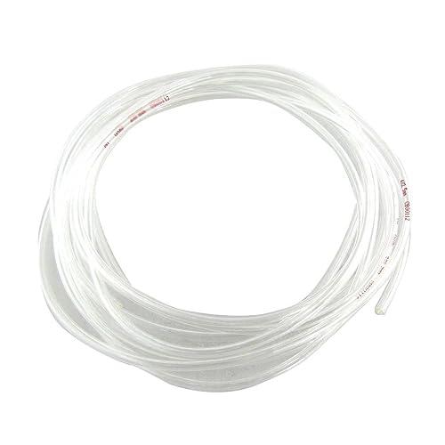 SODIAL(R) Transparente 4 Metros 13.1Ft 4 mm x 2,5 mm