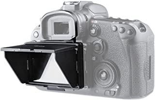 STSEETOP Canon 7D II Sun Shade Screen Protector,Professional Camera Sunshade Visor LCD Hood Screen Protector for Canon 7D Mark II 7D2