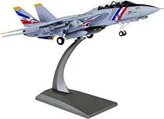 HANGHANG 1/100 Scale F-14 Attack Plane Metal Fighter Military Model Fairchild Republic Diecast Plane Model for Commemorate Collection or Gift