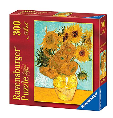Ravensburger 14006 - Van Gogh Vaso di Girasoli - Puzzle 300 Pezzi Art Collection