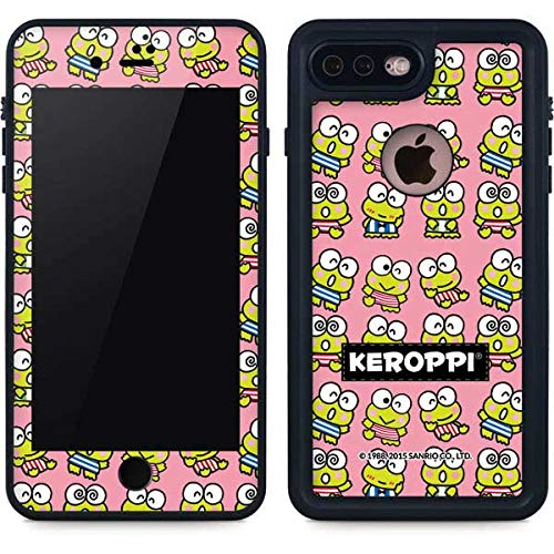 Skinit Waterproof Phone Case Compatible with iPhone 7 Plus - Officially Licensed Sanrio Keroppi Multiple Design