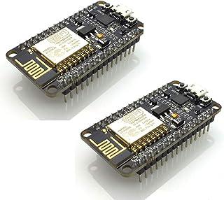 HiLetgo NodeMCU Lua ESP8266 CP2102 ESP-12E Internet WiFi Carte de développement Open Source Serial Module Sans Fil Fonctionne parfaitement Avec Arduino IDE/Micropython
