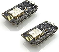 HiLetgo 2pcs ESP8266 NodeMCU CP2102 ESP-12E Internet WiFi Development Board Open Source Serial Wireless Module (Pack of 2PCS)