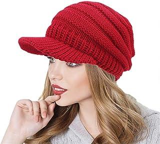 BeautyVan—Winter Womens hat Women Soft Knit Hats Fashion Hats Messy Hat Warm  Crochet Wool 0fc05d1630af