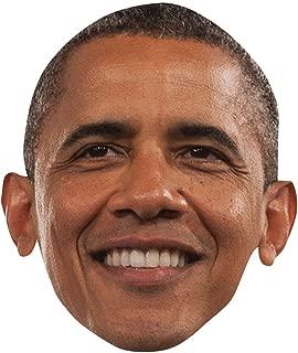 Barack Obama Celebrity Mask, Card Face and Fancy Dress Mask