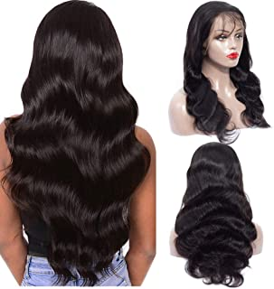 deep part lace front wig human hair