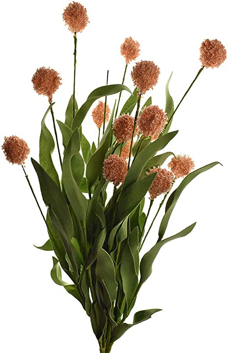 Artificial Ball Flower Spray 19-12-Inch